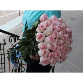 Арт. 0099. Роза 50см 45шт, атласная лента