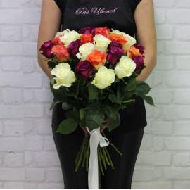 Роза микс (разные расцветки)